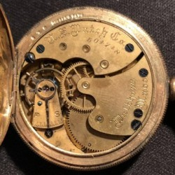 U.S. Watch Co. (Waltham, Mass) Grade  Pocket Watch