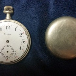 Trenton Watch Co. Grade  Pocket Watch