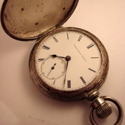 U.S. Watch Co. (Marion, NJ) Grade A.H.Wallis Pocket Watch