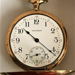 Boston Watch Co. Grade  Pocket Watch