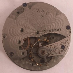 Manistee Watch Co. Grade  Pocket Watch