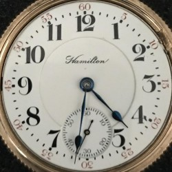 Hamilton Grade 946 Pocket Watch