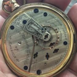 Non-Magnetic Watch Co. Grade PAILLARD'S PATENT Pocket Watch