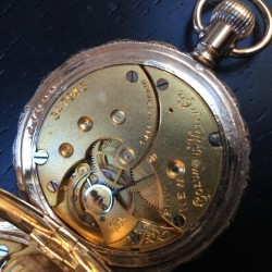 Columbus Watch Co. Grade  Pocket Watch