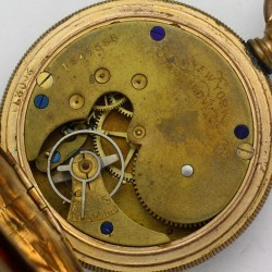 New York Standard Watch Co. Grade  Pocket Watch