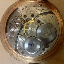 Hamilton Pocket Watch #23815649