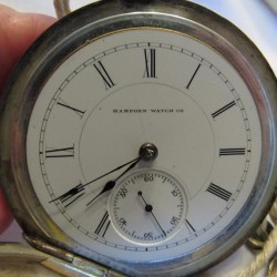 Hampden Grade Springfield Pocket Watch