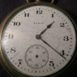 Elgin Grade 291 Pocket Watch