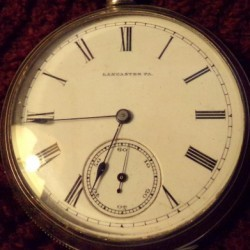 Lancaster Watch Co. Grade West End Pocket Watch