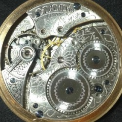 Waltham Grade No. 210 Pocket Watch