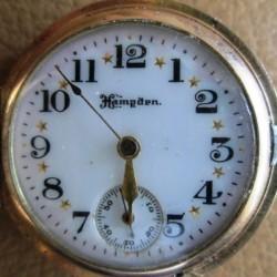 Hampden Grade The Four Hundred Pocket Watch