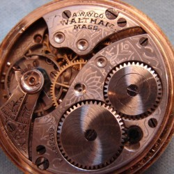 Waltham Grade No. 161 Pocket Watch