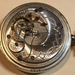 Columbus Watch Co. Pocket Watch Grade Unknown #379152