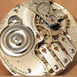 Illinois Grade 189 Pocket Watch