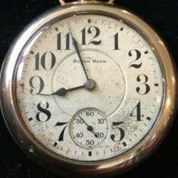 South Bend Grade Studebaker Pocket Watch