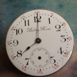 U.S. Watch Co. (Waltham, Mass) Grade Betsy Ross Pocket Watch