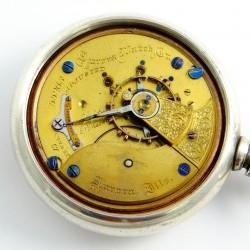 Aurora Watch Co. Grade 6 Pocket Watch