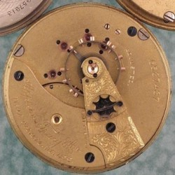 Waltham Grade A.T. & Co. Pocket Watch