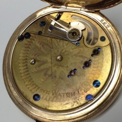 Keystone Standard Watch Co. Grade Dust Proof Pocket Watch Movement