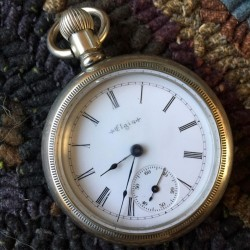 Elgin Grade 208 Pocket Watch