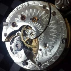 Columbus Watch Co. Pocket Watch Grade  #321229