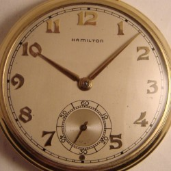 Hamilton Grade 917 Pocket Watch