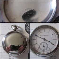 Hampden Grade Woolworth Pocket Watch
