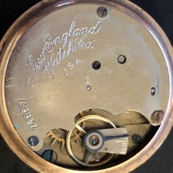 New England Watch Co. Grade Unknown Pocket Watch
