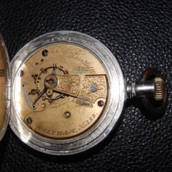 Waltham Grade Martyn Square Pocket Watch
