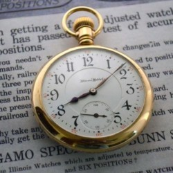 Illinois Grade Sangamo Pocket Watch