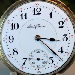 South Bend Grade 215 Pocket Watch