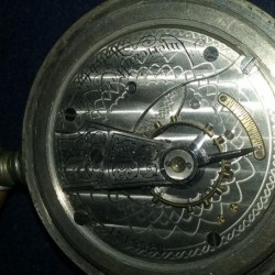 Waltham Grade No. 18 Pocket Watch