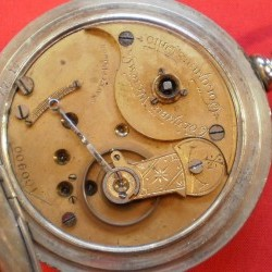 Columbus Watch Co. Pocket Watch Grade  #100987