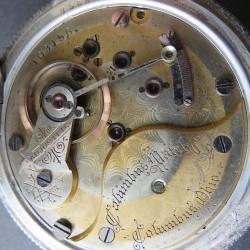 Columbus Watch Co. Pocket Watch #103156