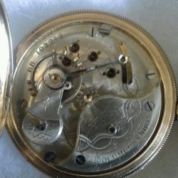 Columbus Watch Co. Pocket Watch Grade  #103943