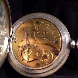 Columbus Watch Co. Pocket Watch Grade 90 #123441