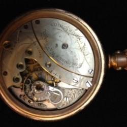 Columbus Watch Co. Pocket Watch Grade  #134080