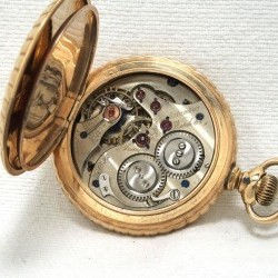 Columbus Watch Co. Pocket Watch Grade  #1592