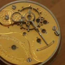 Columbus Watch Co. Pocket Watch Grade 93 #169843