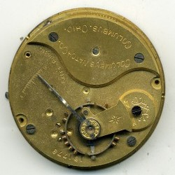 Columbus Watch Co. Pocket Watch Grade  #181778