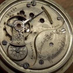 Columbus Watch Co. Grade  Pocket Watch Image