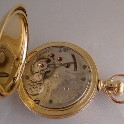 Columbus Watch Co. Pocket Watch Grade 34 #194467