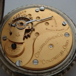Columbus Watch Co. Pocket Watch Grade 20 #196078