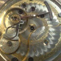 Columbus Watch Co. Pocket Watch Grade Railway King #204095
