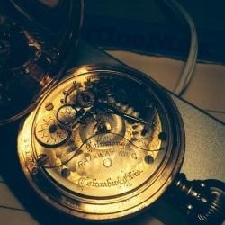 Columbus Watch Co. Pocket Watch Grade Railway King #204160