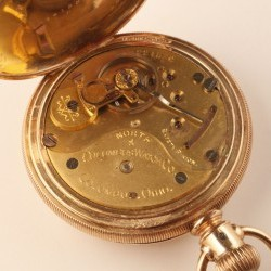 Columbus Watch Co. Pocket Watch Grade North Star #221536
