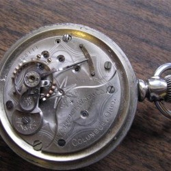 Columbus Watch Co. Pocket Watch Grade North Star #225023