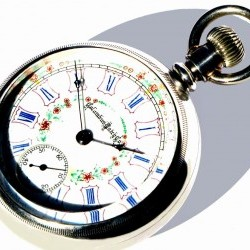 Columbus Watch Co. Grade Champion Pocket Watch