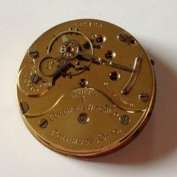 Columbus Watch Co. Pocket Watch Grade North Star #232126