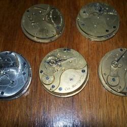 Columbus Watch Co. Pocket Watch Grade  #244179